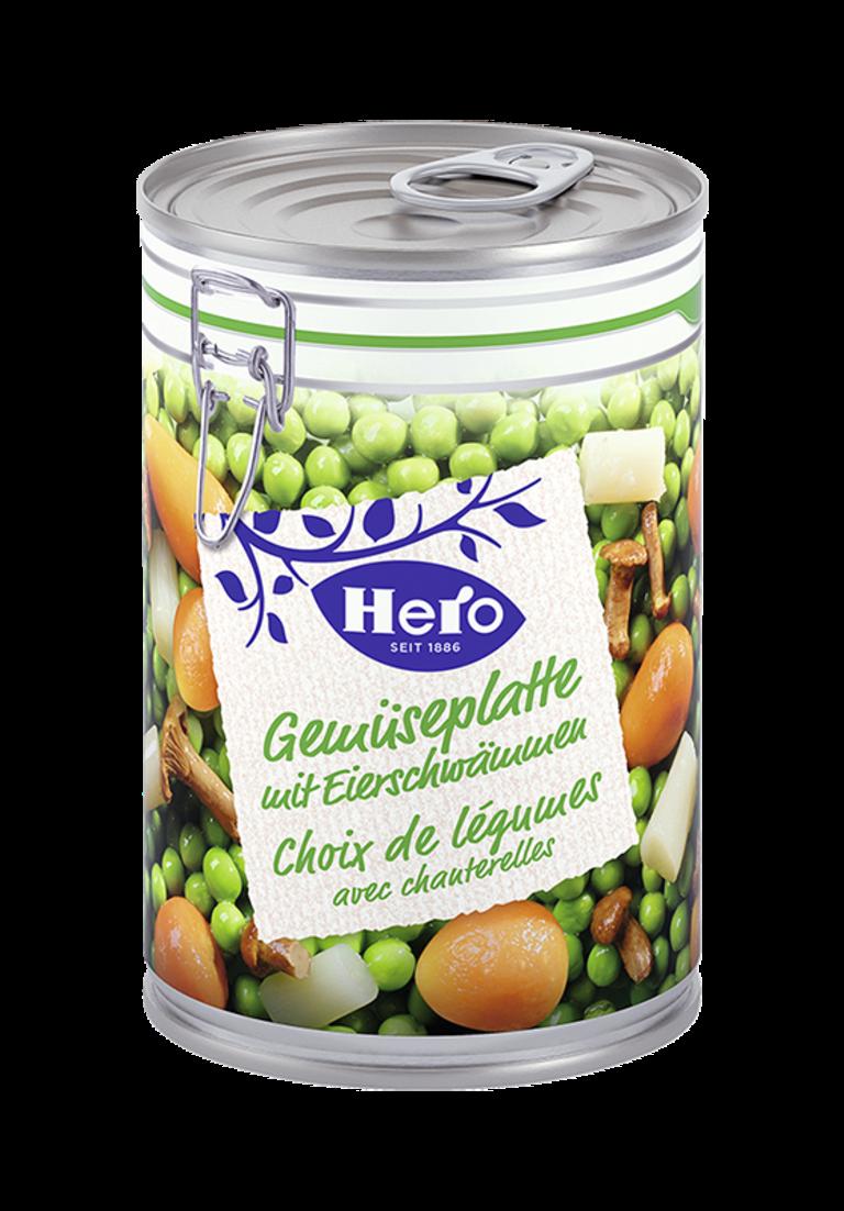 Gemüseplatte mit Eierschwemmen | Hero