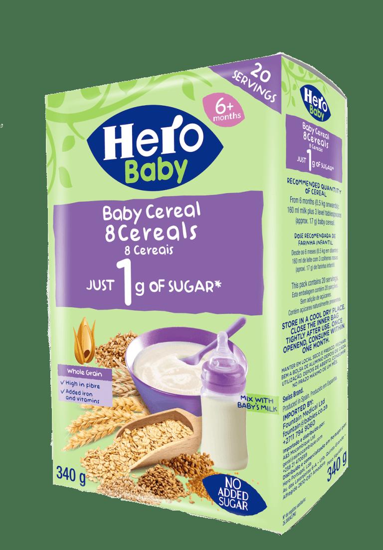 farinha infantil 8 cereais