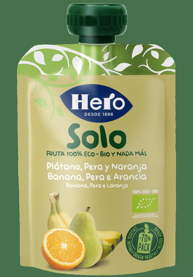 Hero Solo BANANA PERA E LARANJA