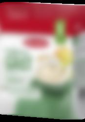 Fullkornsgröt med frukt från Semper Barnmat