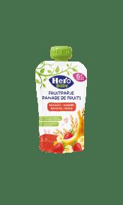 Hero Baby Fruitpapje met Granen Banaan Aardbei