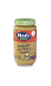 Tarrito de Verduras con Pollo y Ternera
