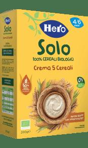 Crema 5 Cereali biologica