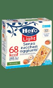 barrette ai cereali light hero nocciole