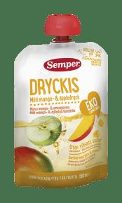 Dryckis Mango från Semper Barnmat