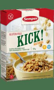 Semper KICK! Natural, naturell och glutenfri granola