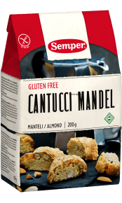 Semper Cantucci Mandel, glutenfria mandelskorpor