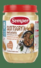 Slottsgryta med potatis från Semper Barnmat