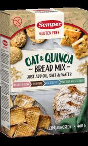 Oat & Quinoa Bread Mix - en brödmix för bakning