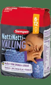 Natti_natti välling med havre & majs från Semper Barnmat