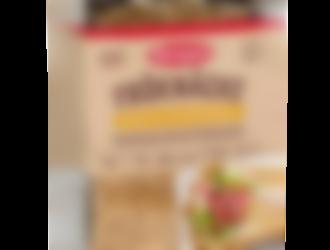 Frøknekkebrød med bokhvete & solsikkekjerner, fra Semper
