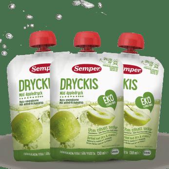 Dryckis Eple, barnedrikke fra Semper