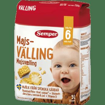 Semper Majsvælling til baby fra 6 måneder