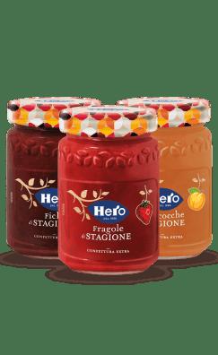 marmellate e confetture hero frutta di stagione