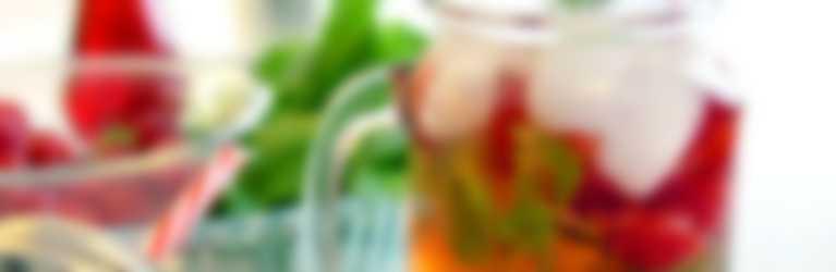 Zitronen-Himbeer-Mocktail