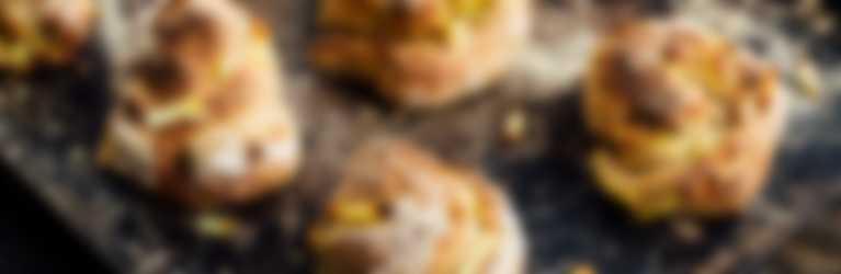Rösti-Kräuter-Brötli frisch gebacken