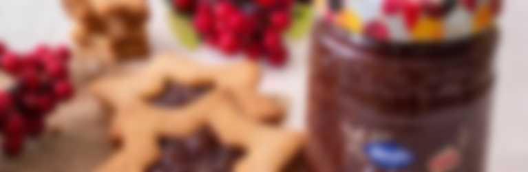 Biscottini di frolla integrale con confettura Hero Fichi di Stagione