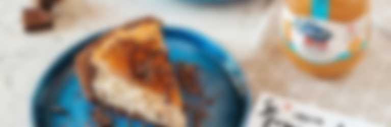 Cheesecake alla ricotta e marmellata hero light alle arance amare