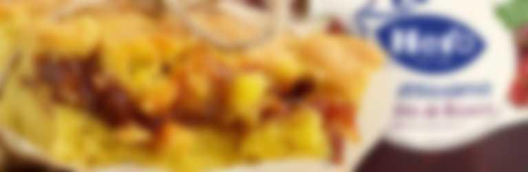Crostata con confettura Hero Fruttissima ai Frutti di Bosco