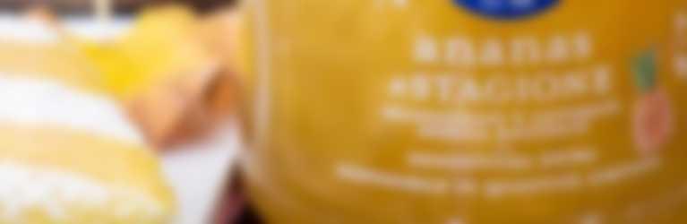 Merendine farcite con confettura Ananas di Stagione