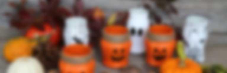 Halloween-Gläser