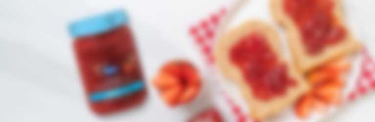 Mermelada de Fresa Baja en Calorías