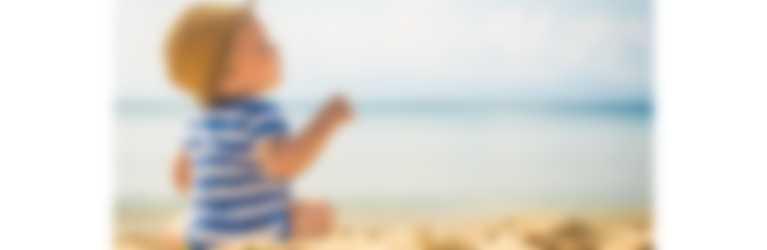 Ir a la playa con niños o bebés