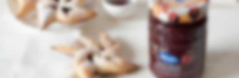 Girandole di sfoglia con Confettura Frutti Rossi di Stagione