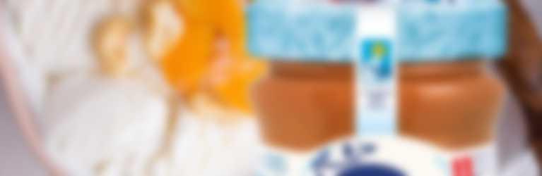 fiocchi di avena overnight con confettura Hero Light alle Albicocche