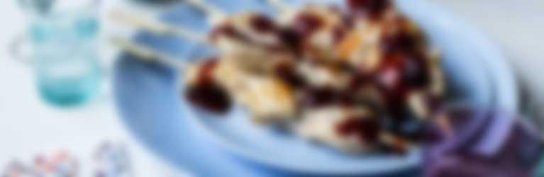 Header_Kipspiesjes met Black Cherry BBQ sauce