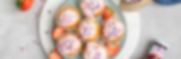 Hero Aardbeien cupcakes header