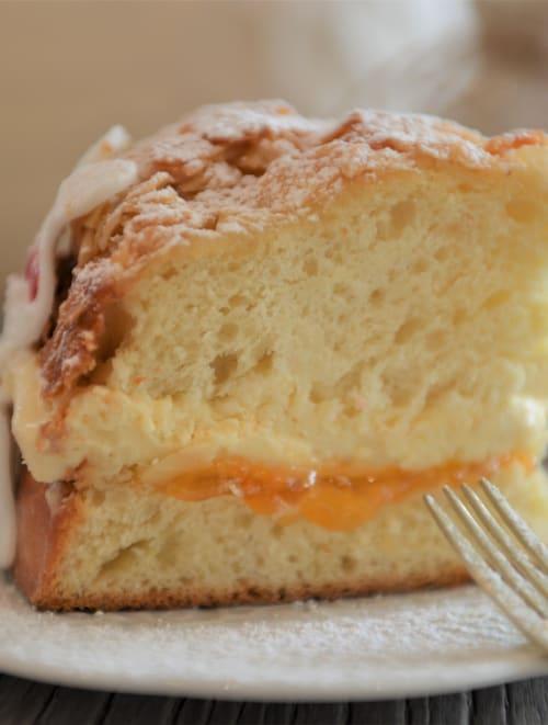 Gâteau de pâques nid d'abeille