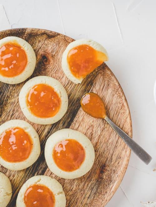Biscuits sablés à l'abricot