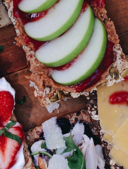 Header_Vijf verschillende crackers met jam