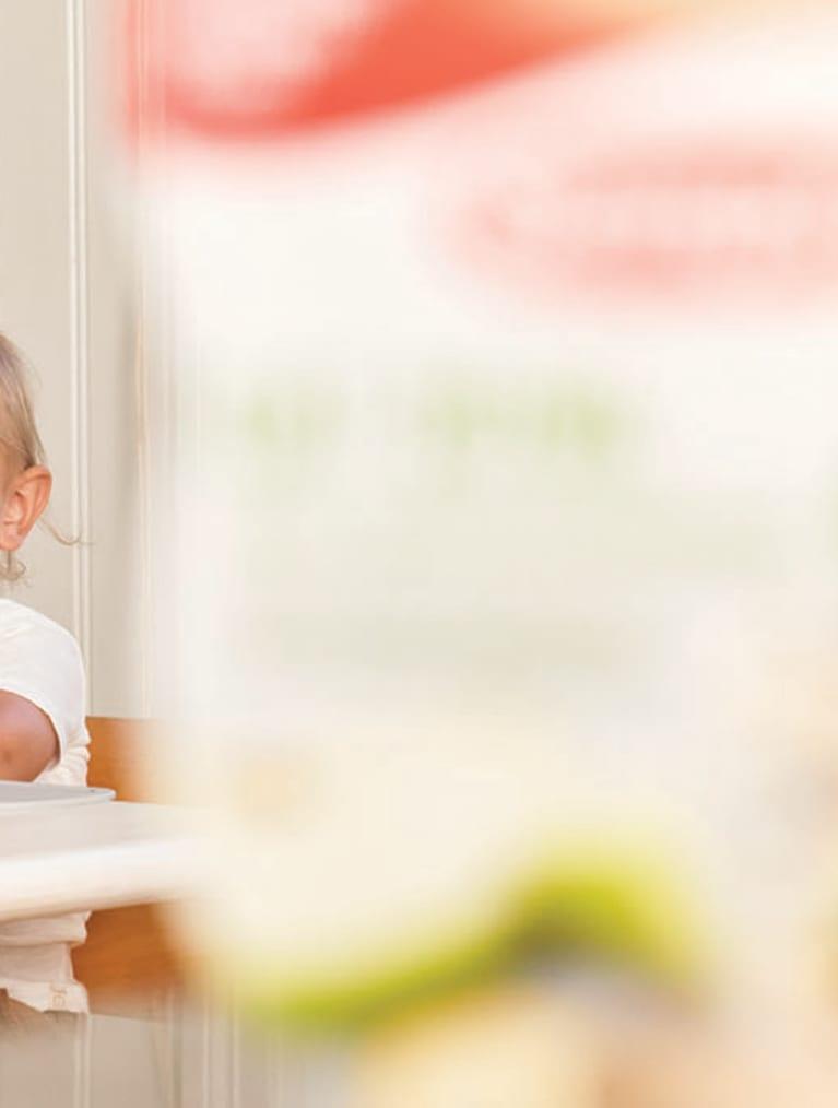 Barn som ska äta mellis - Sempers nya Oat bowl