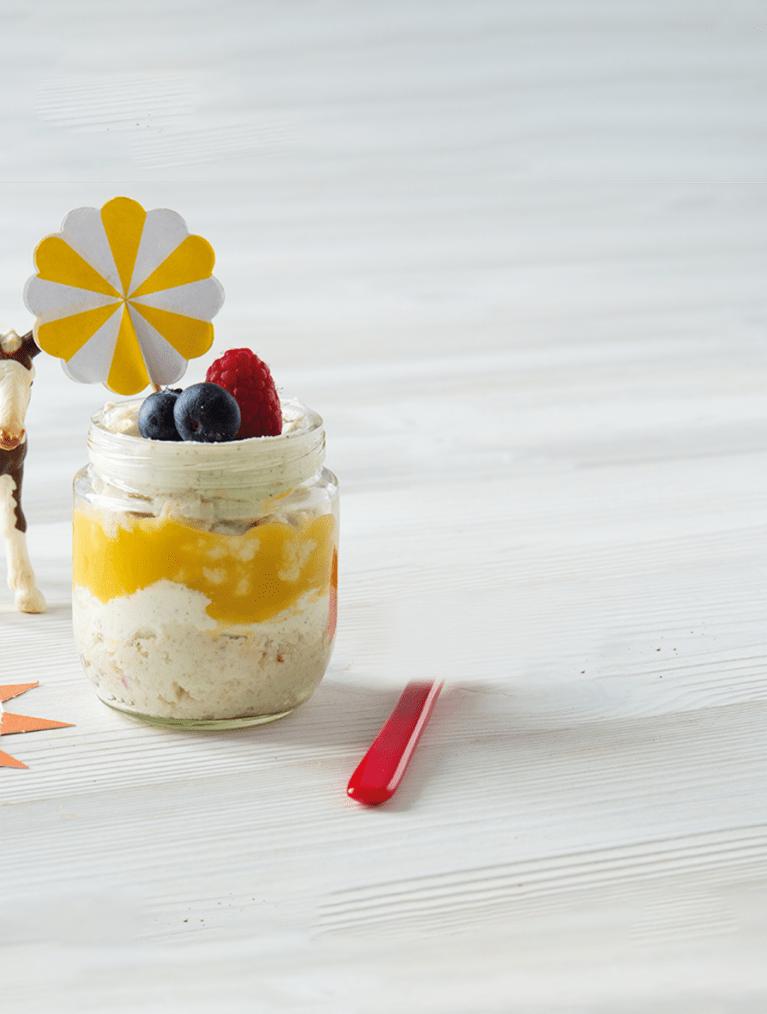 Receptfilm Minicheesecake - Semper Barnmat