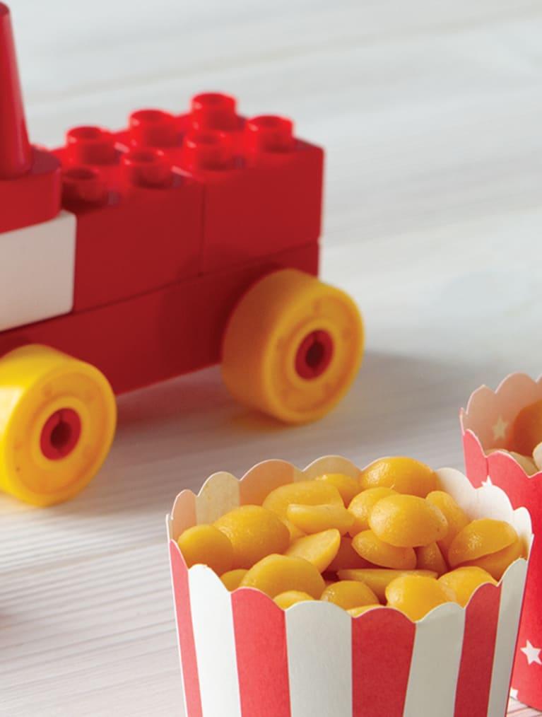 Receptfilm Frysta toppar av fruktpuré - Semper Barnmat