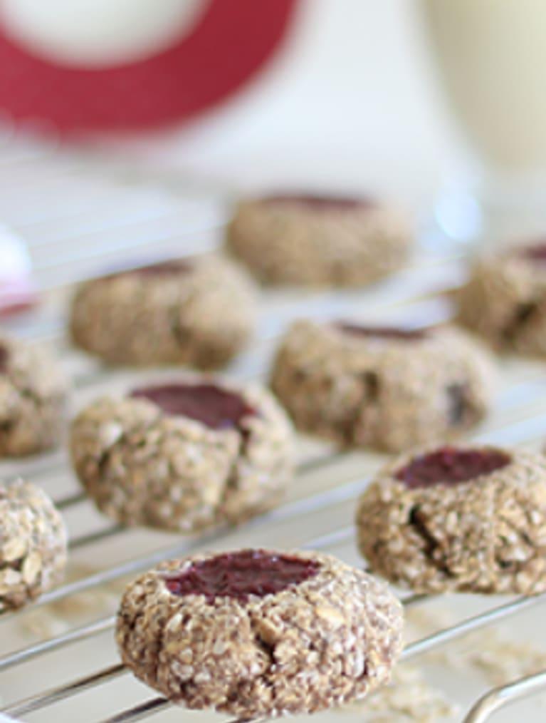 Glutenfria chia coconut cookies