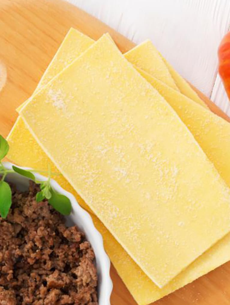 Recept - Lasagne 6M - Semper Barnmat