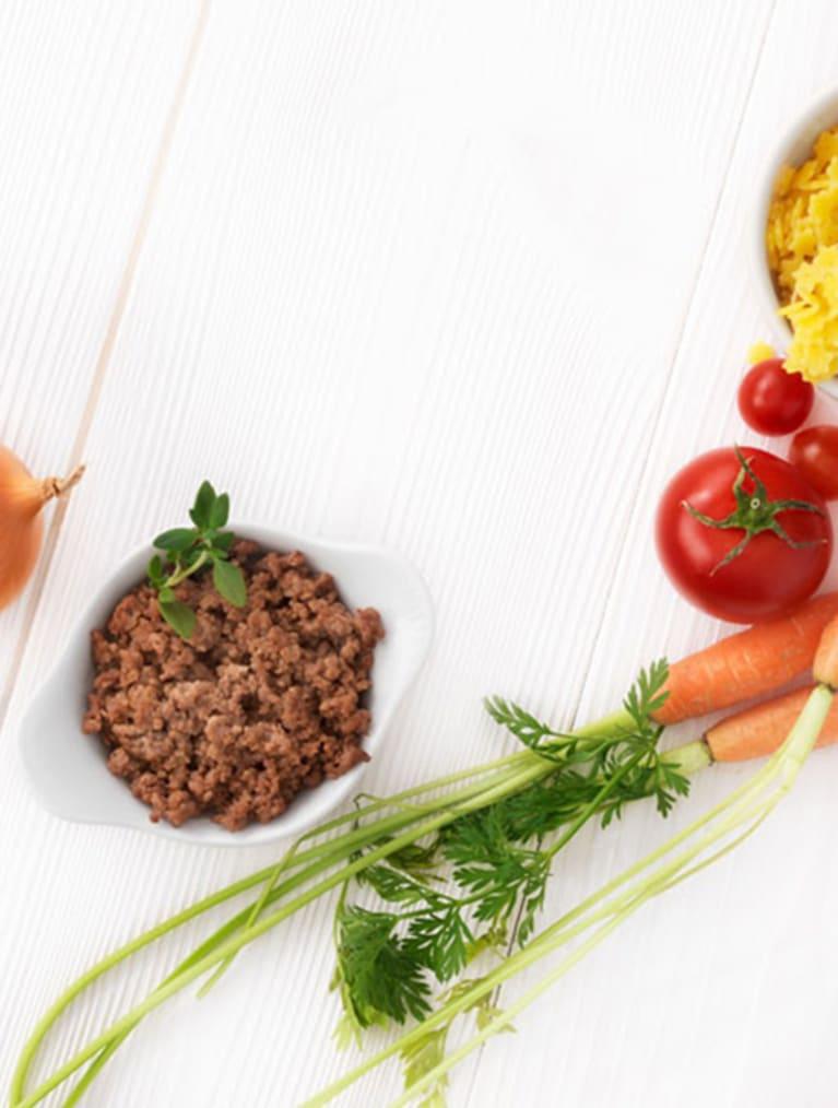 Recept - Pastastjärnor med köttfärssås 12M - Semper Barnmat