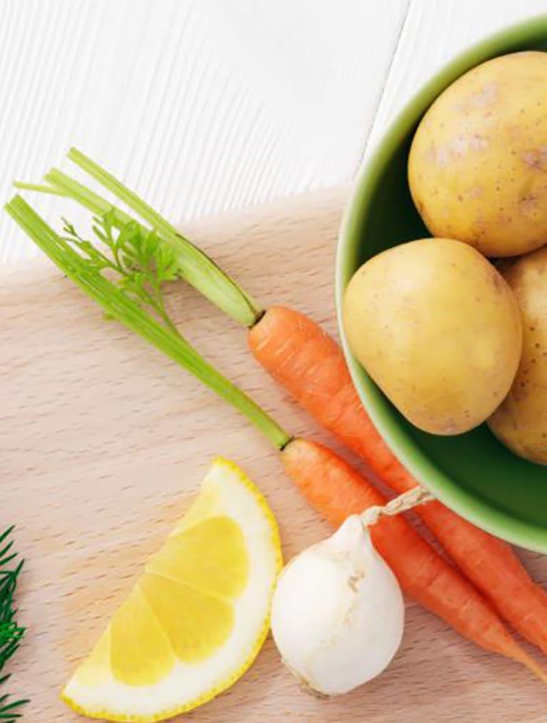 Recept - Potatis med torsk & morot 6M - Semper Barnmat