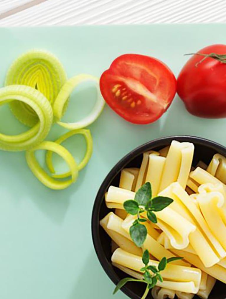 Recept - Tomat & basilikapasta - Semper Barnmat