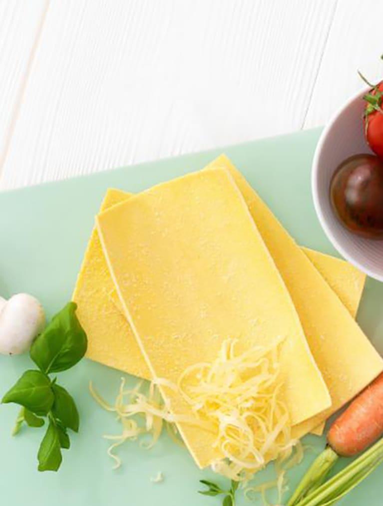 Recept - Vegetarisk Lasagne 6M - Semper Barnmat