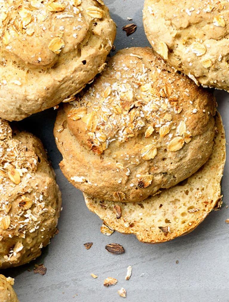 Glutenfritt frukostbröd med Semper Oat & Quinoa Mix