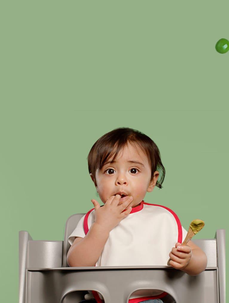 Semper Step är en metod och app som får ditt barn att älska grönsaker