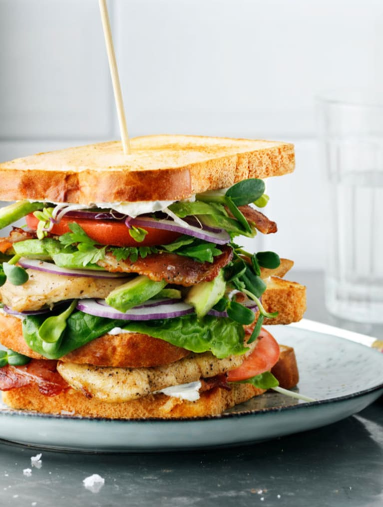 Gluteeniton Club Sandwich
