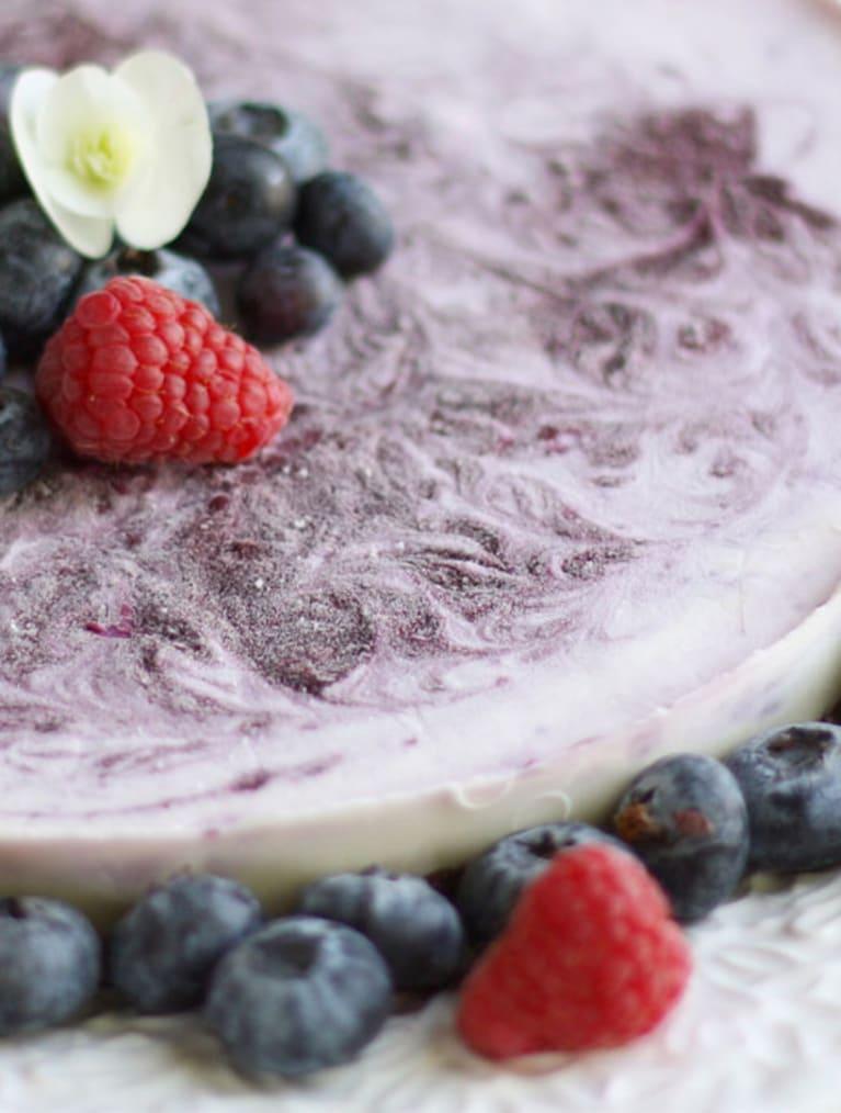 Glutenfri blåbærmousse