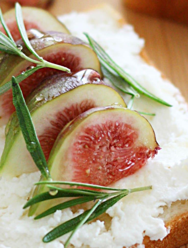 Glutenfri toast med figner