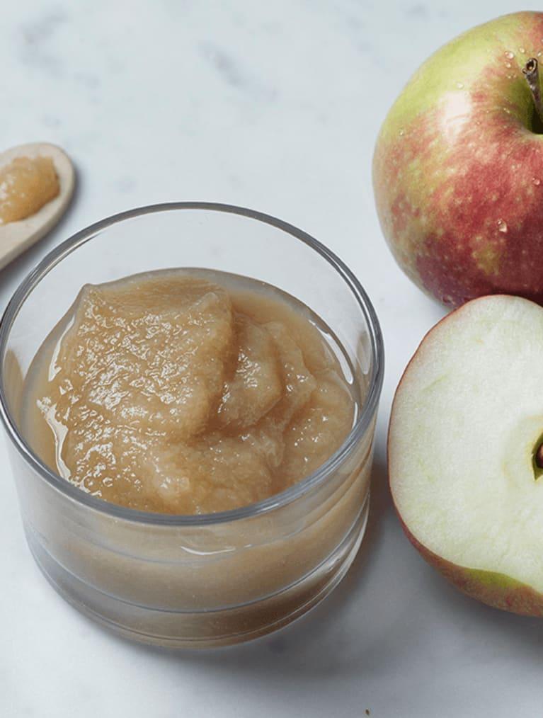 Step-maistelumenetelmä omenasose