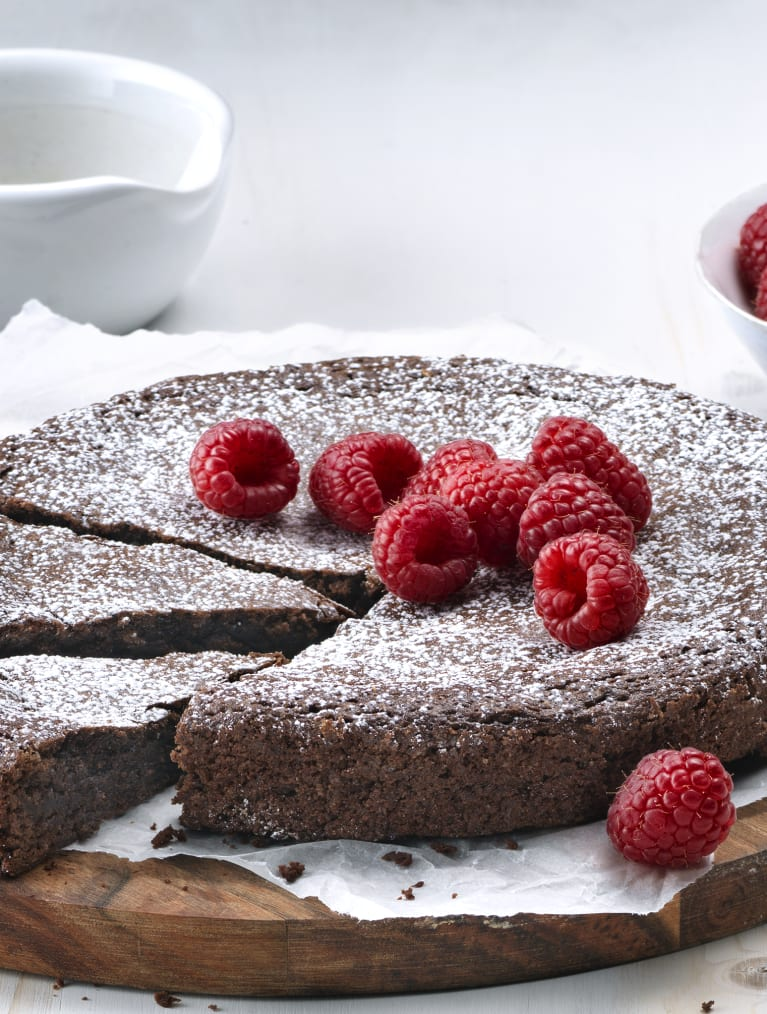 Glutenfri svampet chokoladekage